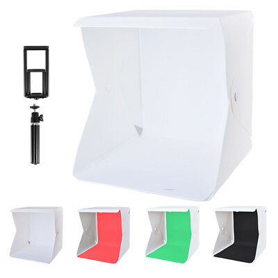 LED Light Room Photography Studio Lighting Tent Kit Cube Box + Mini Tripod LF798