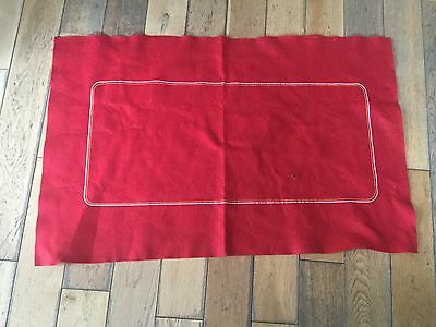 Red card or poker cloth 92cm x 58cm