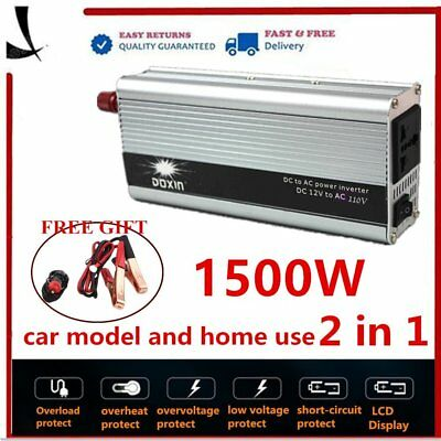 PRO 3000W(4000W PEAK) Home Car 2 in 1 Sine wave Converter Inverter 220V-240V SY