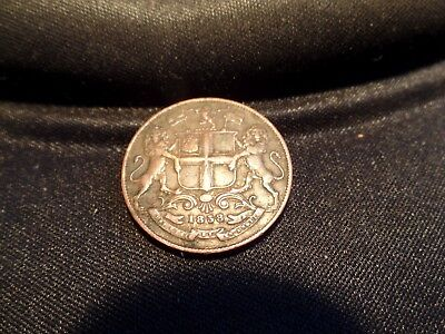 Antique East India Coin One Quarter Anna 1853