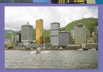 Star Ferry Pier Hong Kong Original Vintage Postcard Ap