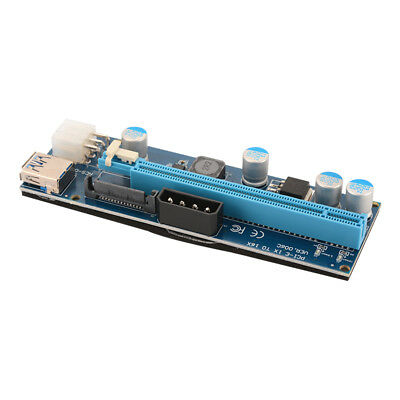 USB 3.0 PCIE PCI-E Express 1x To 16x Extender Riser Card Adapter BTC Cable AC914