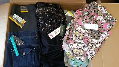 Wholesale Lot of High End Womens Petite Apparel Clothing Mix Brands Manifested