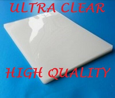 Ultra Clear Thermal Laminating Laminator Pouches Letter 3 Mil 100pk 9 x 11-1/2