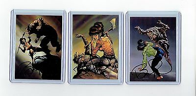 Bernie Wrightson Signed More Macabre Cards (H)