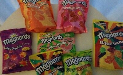 Maynards - Canada - Gummy Candy Bag - Multiple Flavours & Sizes