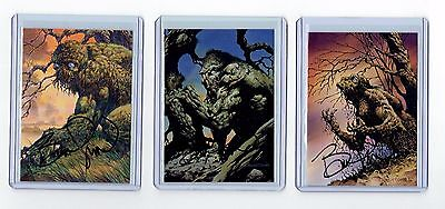 Bernie Wrightson Signed More Macabre Cards (D)