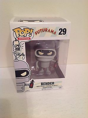 Bender Vinyl Figure Signed Ian Boothby With Bender Original Art Sketch