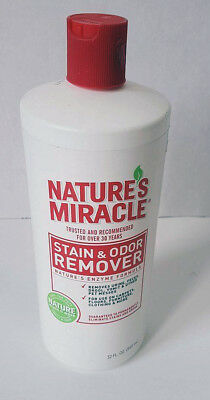 2 Pack of Natures Miracle Stain & Odor Remover 32 fl.oz!!!