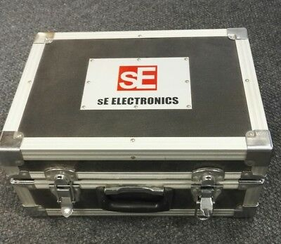 SE Electronics mic hard flight case