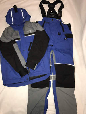 Clam IceArmor Youth Lift Suit Snow Suit ICE FISHING WINTER SZ MED EUC