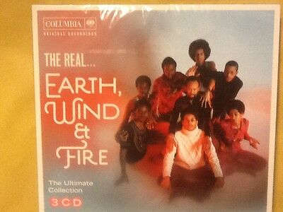 Earth. Wind.  And. Fire.       The. Ultimate. Collection.  Three. Discs.