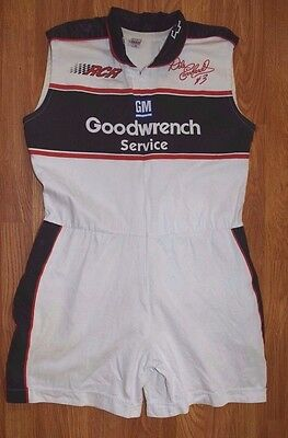 SPORTS IMAGE INC Goodwrench GM Vintage Pit Crew Romper Race Car Shorts Womens XL