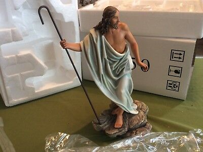 """Rare VIntage Home Interiors """" Jesus The Good Sheppard """" 2004 -14050 NEW In BOX"""
