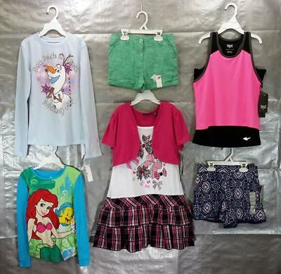 Wholesale Lot of Assorted Brand New Childrens GIRL Clothing Brand Name 100 Pcs