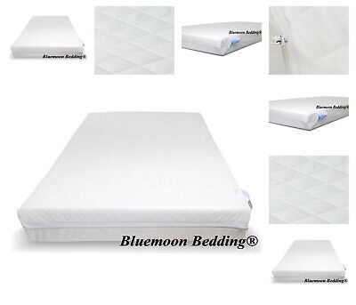 Travel Cot Mattress 65 x 95cm Zip Cover Extra Thick 10cm for Graco Mamas & Papas