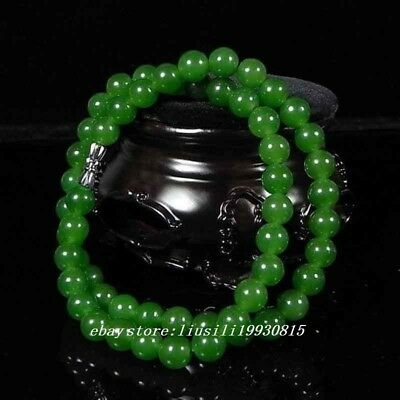 Chinese Beautiful Handcarved 100% Natural Jade Green Jade womens Necklaces