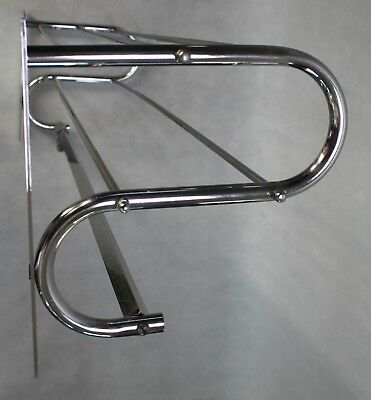 93 cm - ART DECO Wandgarderobe - Garderobe - BAUHAUS - Coat Rack -  chrom