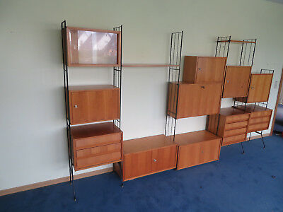string regal mid century 60er vintage eur 1 00. Black Bedroom Furniture Sets. Home Design Ideas