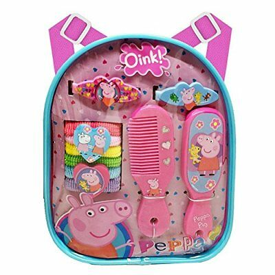 Peppa Pig Backpack Hair Accessory Set New