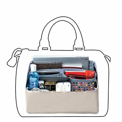 bag in bag Package Bag with Removable Partition Handbag Organizer fits Speedy 30