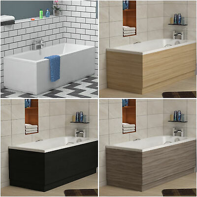 MDF Wooden Bath Panel Front and End Adjustable Baths Panels & Plinth All Sizes