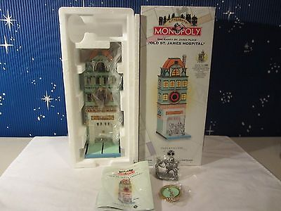 Dept 56 OLD ST. JAMES HOSPITAL  Monopoly Citylights   #13603  (1016SH)
