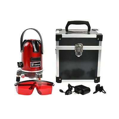 Laser Level Automatic Self Leveling 5 Line 6 Point 360 Rotary Multipurpose Cr...
