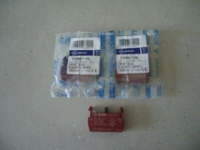 3 - contact block P9B01VN General Electric CEMA 2 in sealed bags made in Italy