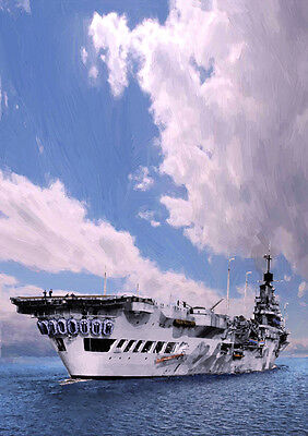Hms Indomitable - Hand Finished, Limited Edition (25)