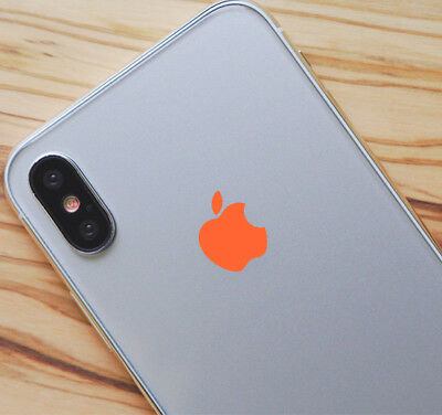 Orange Color Changer Overlay for Apple iPhone 8 and 8 Plus Logo Vinyl Decal