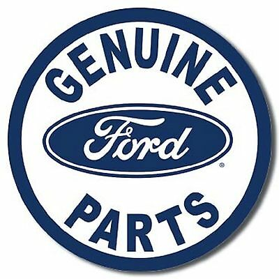 NEW Ford Genuine Parts Antique Vintage Look American Automobile Tin Metal Sign