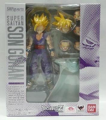 NEW BANDAI S.H.Figuarts Super Saiyan Son Gohan Dragonball Z Kai Action Figure