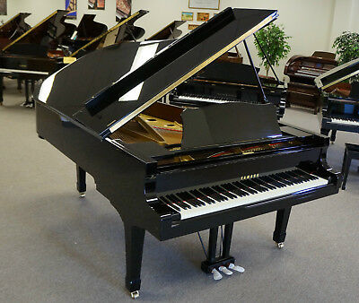 Yamaha C7 Concert Grand Piano - Video Demo Within Listing