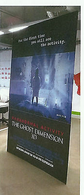 Paranormal Activity The Ghost Dimension 3D Official UK Cinema Standee 8' x 5'
