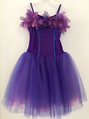 Dance Costume Weissman Large Child Ballet Solo Recital Ice Skating Pageant