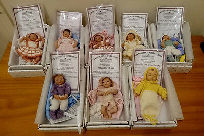 Very Cute Ashton Drake Galleries Heavenly Handfuls Collection Dolls