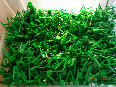LEGO 3741 - 50 Pieces Of Flower Base Stem, Grass Roots, Green Plant Accessories
