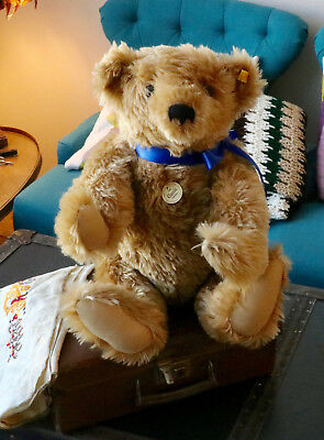 Beautiful Steiff Mohair Bear 1903 Classic Steiff Bear 000201