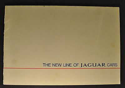 1967 Jaguar Catalog Brochure XK-E, 2+2 340 Sedan 420 420G Nice Original 67