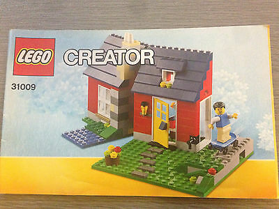 lego instruction booklet 31009 Creator INSTRUCTION BOOKLET ONLY!