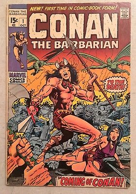 Conan the Barbarian #1 (1970, Marvel) 6.5 FINE, FIRST ISSUE!