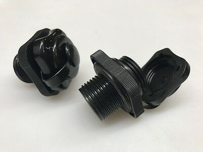 Screw In Replacement Ski Biscuit Valve Set of 2 Fits Most Ski Donuts