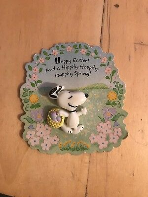 collectable Halmark Snoopy Easter pin