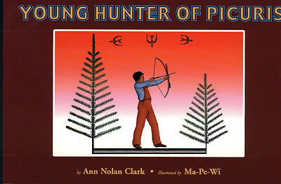 Young Hunter of Picuris, Illustrated by Ma-Pe-Wi (6 copies in one auction)