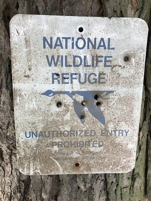 National Wildlife Refuge Sign