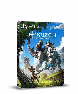 Horizon Zero Dawn Limited Steelbook Case (No game)