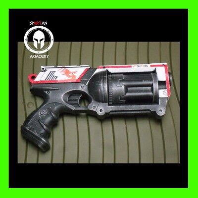 Destiny Inspired Custom Painted Nerf Minuet-42 Hand Cannon Cosplay LARP