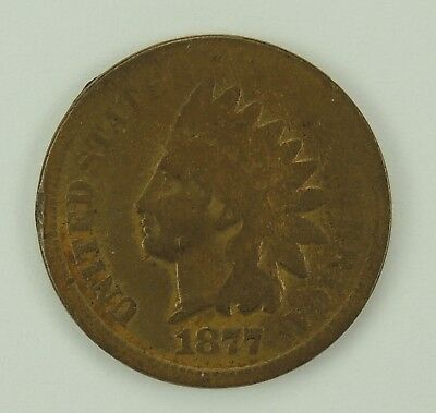 1877 1C Indian Head Cent (Penny) - Look Key Date !!