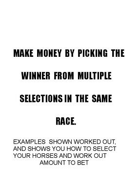 Bet On Multiple Horses To Win A Fixed Amount...how To Do It
